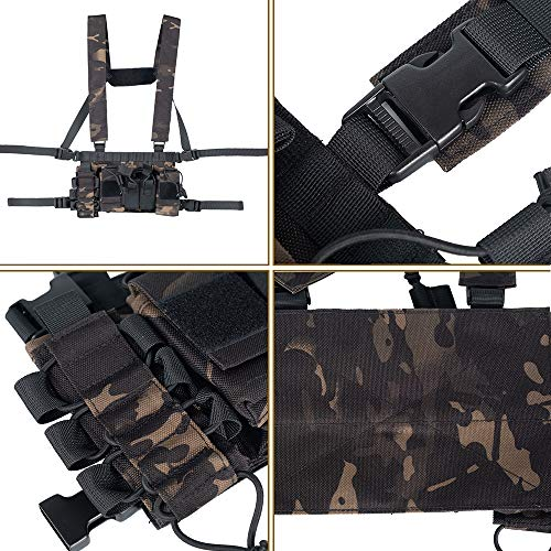 Trdio Airsoft Tactical Vest 2 Trido Chest Rig Tactical Airsoft