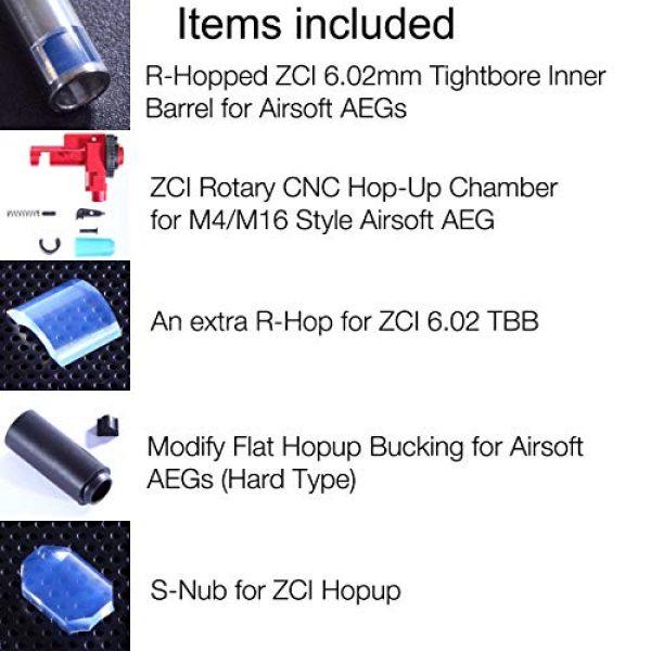 Elvish Tac Airsoft Tool 2 Elvish Tac R-Hopped ZCI 6.02 Tightbore Barrel Modify Flat-Hop Bucking ZCI CNC Hopup S-Nub AEG R-Hop RHop