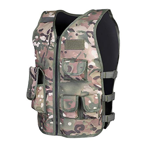 Keenso Airsoft Tactical Vest 4 Keenso Camouflage Vest