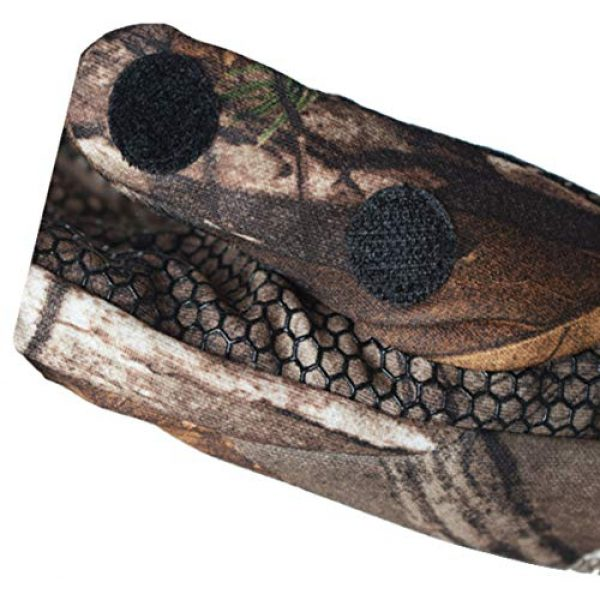 SHAWINGO Airsoft Glove 6 SHAWINGO Camouflage Hunting Gloves Cut Finger Camo Gloves for Archery Fishing Shooting