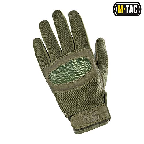 M-Tac Airsoft Glove 3 M-Tac Tactical Gloves Full Finger Assault Airsoft Protective Gear