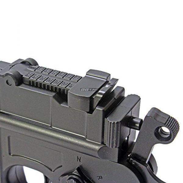 BBTac Airsoft Pistol 5 BBTac BT-712 World War II 165 FPS C96 Metal Zinc Alloy Airsoft Pistol with Magazine