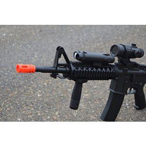 Well Airsoft Rifle 1 wellfire d92h m16 ris airsoft electric gun aeg w/ flashlight and foregrip(Airsoft Gun)