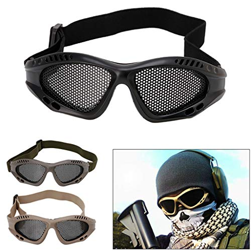 Oranmay Airsoft Goggle 2 Oranmay Eye Protection Goggles Anti Fog Mesh Glasses for Motorcycle Airsoft