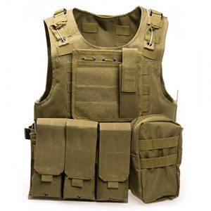 XIAOWANG Airsoft Tactical Vest 1 XIAOWANG PUBG Tactical Vest Paintball Airsoft Chest Protector Tactical Vest Outdoor Sports Body Armor
