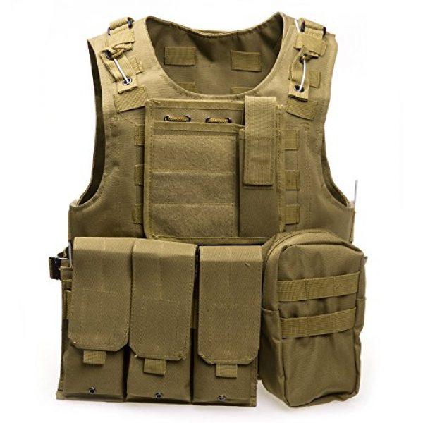 XIAOWANG Airsoft Tactical Vest 1 XIAOWANG PUBG Tactical Vest Paintball Airsoft Chest Protector Tactical Vest Outdoor Sports Body Armor