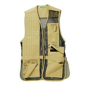 Bob-Allen Airsoft Tactical Vest 1 Bob-Allen Shooting Vest, Right Handed, Black, 2X