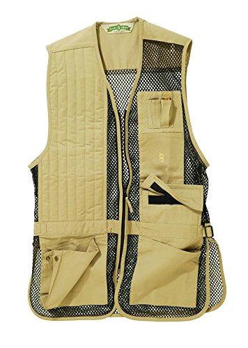Bob-Allen Airsoft Tactical Vest 1 Bob-Allen Shooting Vest, Right Handed, Black, 2X
