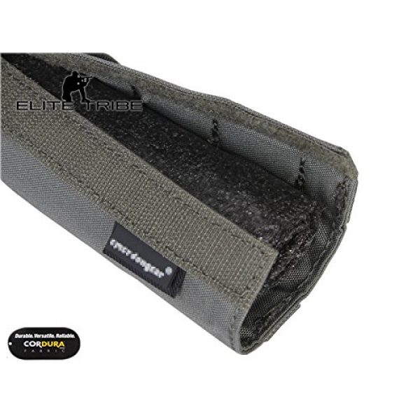 Elite Tribe Airsoft Tool 6 Elite Tribe Military Hunting Tactical 22cm Airsoft Suppressor Cover Silencer Cover