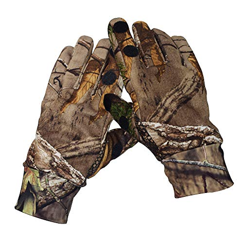 EAmber Airsoft Glove 1 Eamber Camouflage Hunting Gloves Full Finger/Fingerless Gloves Pro Anti-Slip Camo Realtree Glove Archery Accessories Hunting Outdoors (M) (L) (L)