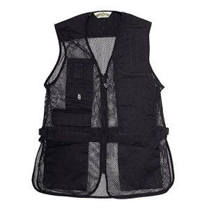 Bob-Allen Airsoft Tactical Vest 1 Bob-Allen 40085 240M Shtng Vest RH blk 3X , Black