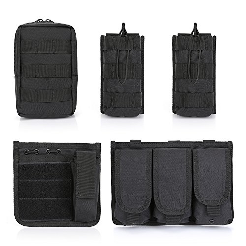 GZ XINXING Airsoft Tactical Vest 5 GZ XINXING Black Tactical Airsoft Paintball Vest