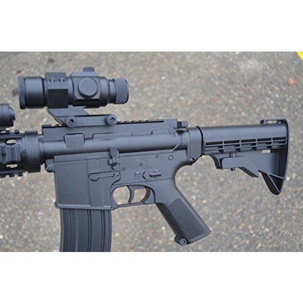 Well Airsoft Rifle 2 wellfire d92h m16 ris airsoft electric gun aeg w/ flashlight and foregrip(Airsoft Gun)
