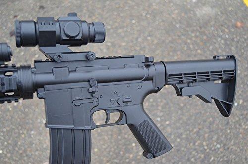 Well  2 wellfire d92h m16 ris airsoft electric gun aeg w/ flashlight and foregrip(Airsoft Gun)
