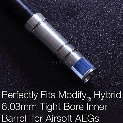 Elvish Tac Airsoft Barrel 2 Elvish Tac RHOP + Modify Hybrid 6.03mm Tightbore Barrel + Flat-Hop Bucking S-Nub AEG R-Hop