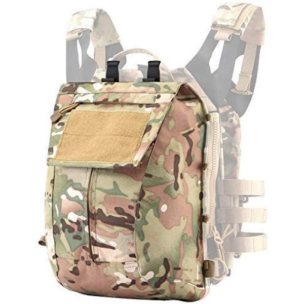 Will Outdoor Airsoft Tactical Vest 3 Airsoft Tactical JPC2.0 Amphibious Combat Multicam Protective Vest with 2.0 Large Capacity Outdoor Expansion Kit