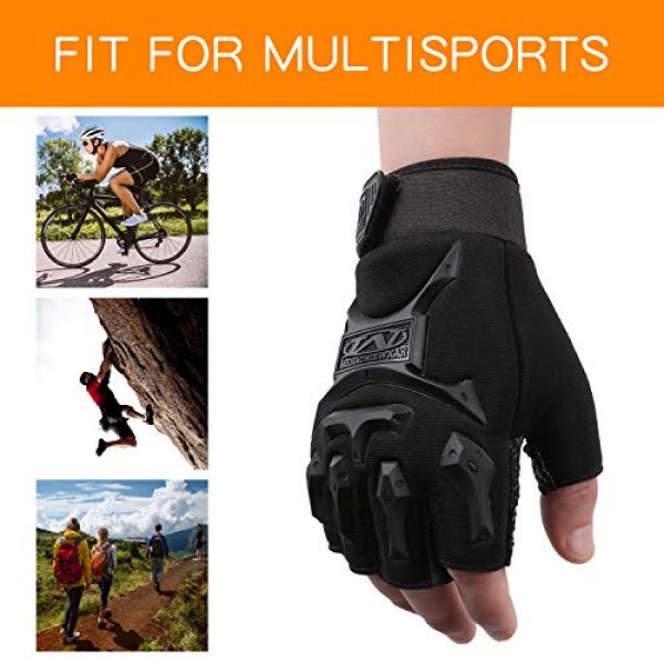 ACVCY Airsoft Glove 4 ACVCY Cycling Fingerless Gloves