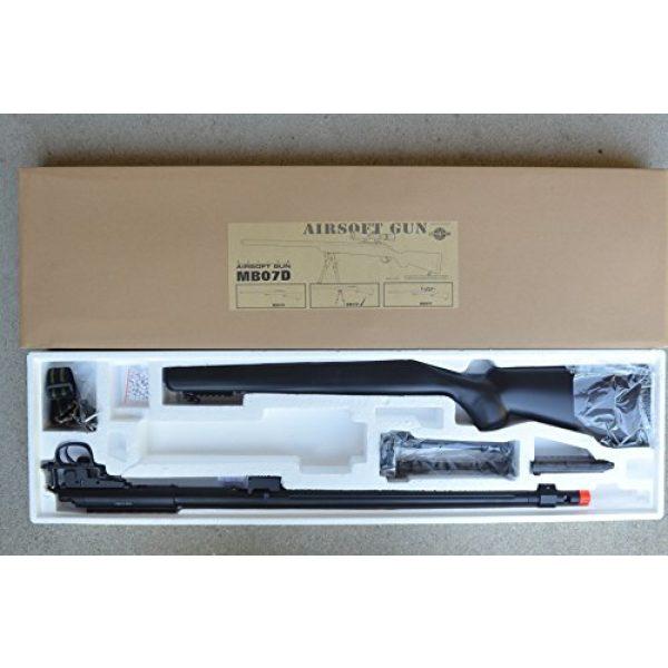 Well Airsoft Rifle 3 mb07b model 700 airsoft spring sniper rifle w/ bipod, flash hider(Airsoft Gun)
