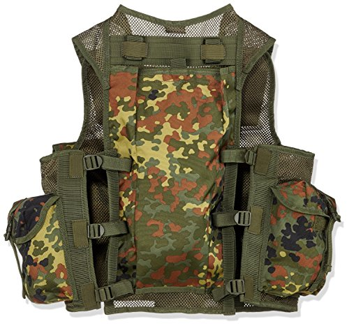Mil-Tec  2 Mil-Tec 9 Pocket Tactical Vest (Flecktarn)