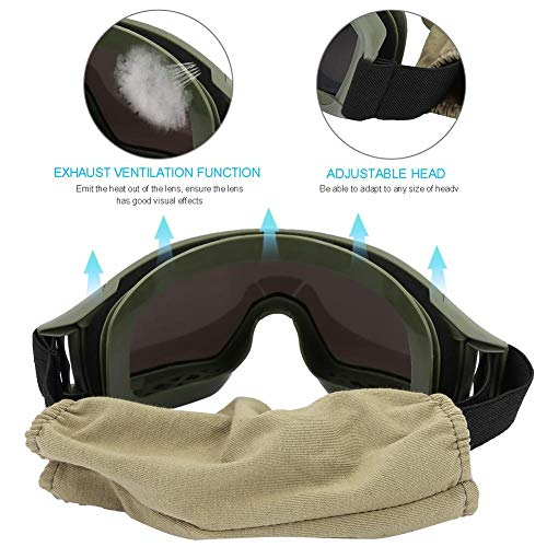 Bnineteenteam Airsoft Goggle 4 Bnineteenteam Outdoor Goggles