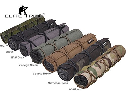 Elite Tribe Airsoft Tool 1 Elite Tribe Military Hunting Tactical 22cm Airsoft Suppressor Cover Silencer Cover