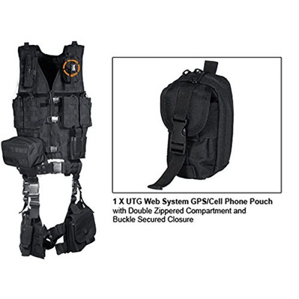 UTG Airsoft Tactical Vest 5 UTG Ultimate Tactical Gear Modular 10 Piece Complete Kit