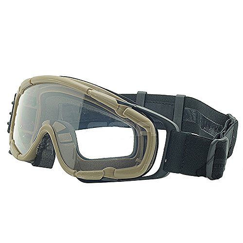 ATAIRSOFT Airsoft Goggle 1 ATAIRSOFT Wind-Shield Protective Airsoft Ski Bike Goggles Mini Fan System