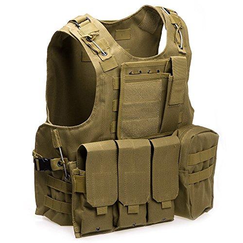 XIAOWANG Airsoft Tactical Vest 2 XIAOWANG PUBG Tactical Vest Paintball Airsoft Chest Protector Tactical Vest Outdoor Sports Body Armor