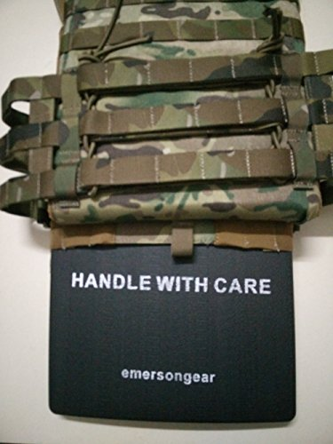 EVA SAPI Plate Carrier Emerson Accessory Panels Set for AVS JPC Airsoft Hunting Vest Black