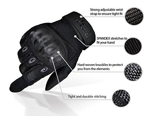 TitanOps Gear Airsoft Glove 2 TitanOPS Hard Knuckle Gloves