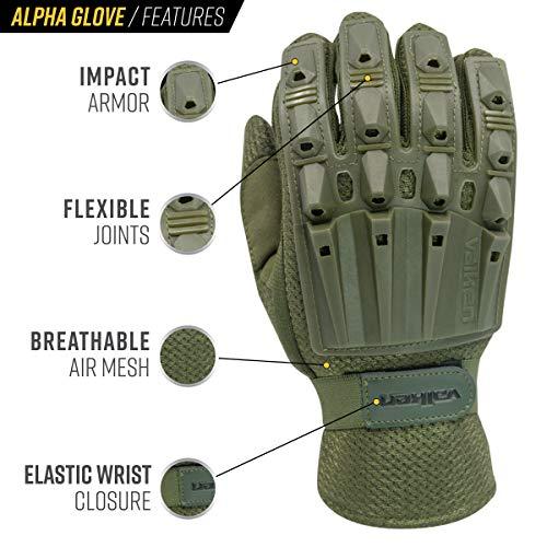 Valken Airsoft Glove 2 Valken Alpha Full Finger Gloves