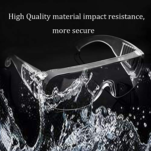 Scratch & UV Resistant Safety Glasses