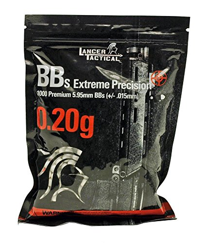 Lancer Tactical  2 Lancer Tactical 1000 Extreme Percision Primium 6mm Seamless BBS