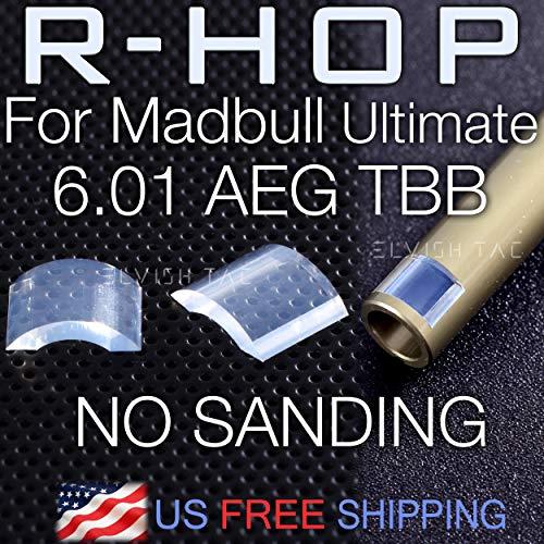 Elvish Tac Airsoft Barrel 1 Elvish Tac RHOP Fit Mad Bull Ultimate 6.01mm Airsoft AEG TBB Barrel NO Sanding Needed R Hop