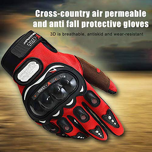 Norbi Airsoft Glove 7 Norbi Full Finger Hard Knuckle Motorcycle Gloves Tactical Combat Training Outdoor Glove Perfect for Cycling Hiking Camping