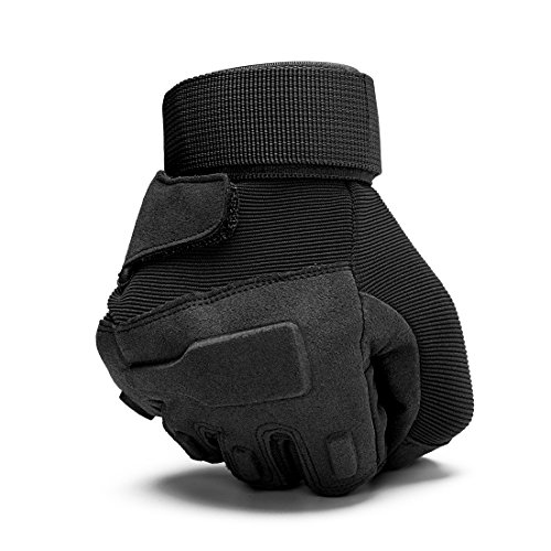 SHAPA Airsoft Glove 5 Military Tactical Gloves Full Finger Rubber Hard Knuckle Gloves for Hunting Airsoft Paintball