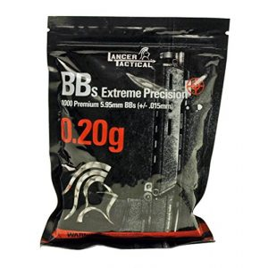 Lancer Tactical Airsoft BB 1 Lancer Tactical 1000 Extreme Percision Primium 6mm Seamless BBS