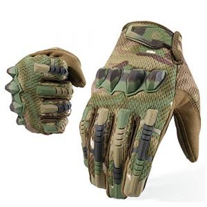 YOSUNPING Airsoft Glove 1 YOSUNPING Tactical Full Finger Gloves Touchscreen for Motorcycle Hiking Cycling Climbing