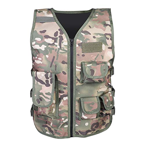 Keenso Airsoft Tactical Vest 1 Keenso Camouflage Vest