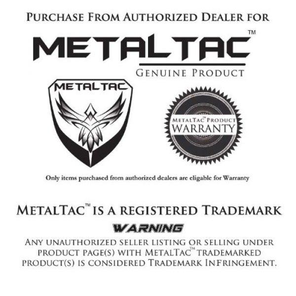 MetalTac Airsoft Gun Magazine 2 MetalTac M-Series 300 Round Hi-Cap AEG Airsoft Magazine