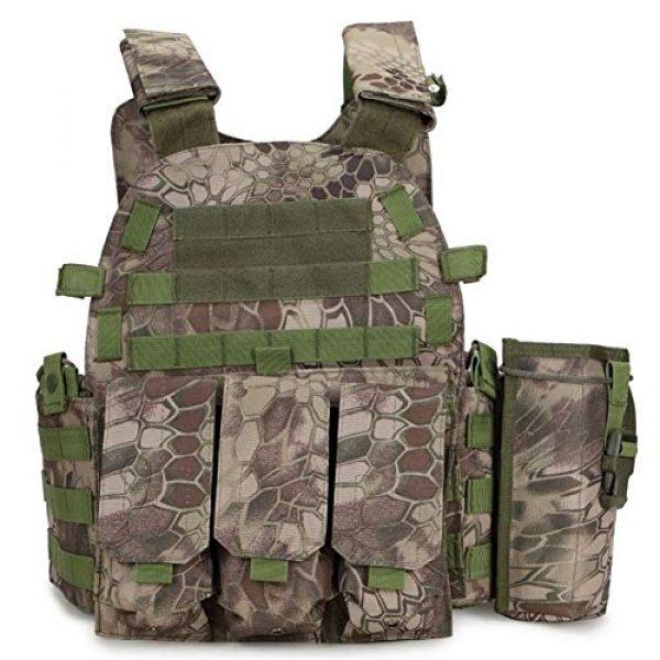 Redland Art Airsoft Tactical Vest 1 Redland Art Outdoor Hunting Vests Tactical Vest Military Men Clothes Army CS Equipment Accessories Airsoft Body Armor Painball Vest Airsoft Tactical Vest
