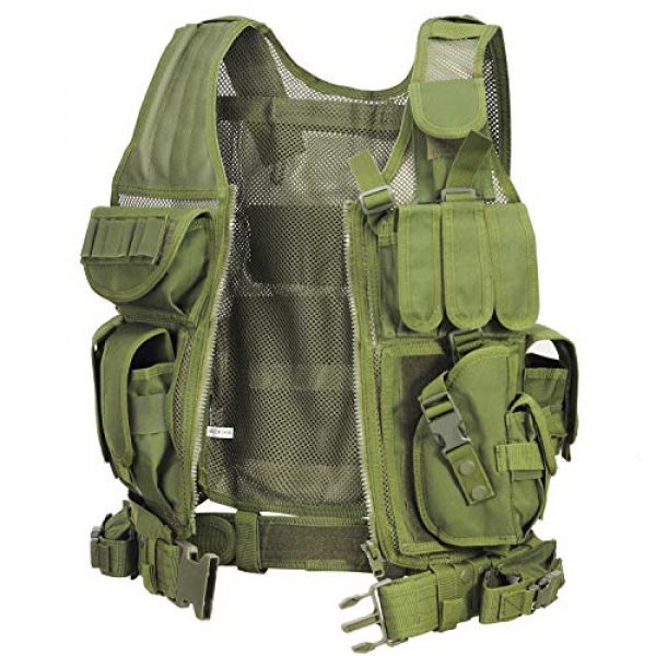 GZ XINXING Airsoft Tactical Vest 3 GZ XINXING S - 4XL Law Enforcement Tactical Airsoft Paintball Vest