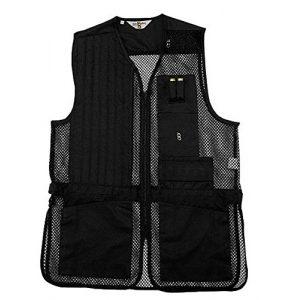 Bob-Allen Airsoft Tactical Vest 1 Bob-Allen Shooting Vest, Left Handed, Black, Medium