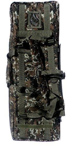 """East West U.S.A Airsoft Gun Case 7 East West U.S.A RTGC604 36"""" Double Tactical Molle Soft Padded Rifle Long Hunting Bag"""