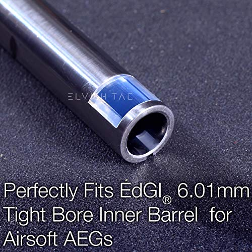 Elvish Tac Airsoft Barrel 4 Elvish Tac RHOP Fit EDGI 6.01 Airsoft AEG Tightbore TBB Barrel NO-Sanding-Needed R Hop R-Hop