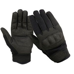 ONETAC OUTDOOR Airsoft Glove 1 ONETAC OUTDOOR Tactical Fleece Lined Hard Knuckle Cold Weather Gloves Military Police Airsoft