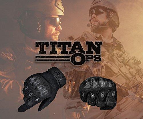 TitanOps Gear Airsoft Glove 5 TitanOPS Hard Knuckle Gloves