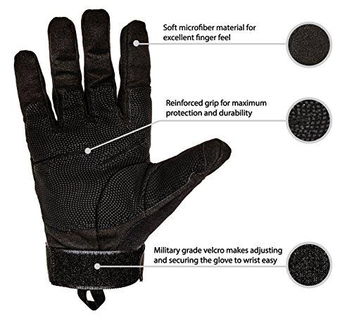 TitanOps Gear Airsoft Glove 3 TitanOPS Hard Knuckle Gloves