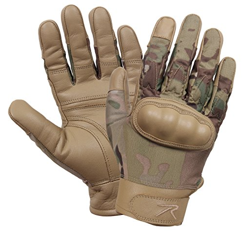 Rothco Airsoft Glove 1 Rothco Hard Knuckle Cut and Fire Resistant Gloves