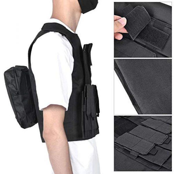 Jacksking Airsoft Tactical Vest 5 Jacksking Tactics Vest,Outdoor Military Children Tactics Vest Sports Waterproof Protector Training Accessory
